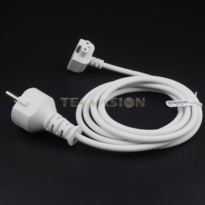 Image 5 - New AC Power Adapter EU Europe Plug Extension Cord 1.8M 6ft Cable For Mac for MacBook Pro Laptop Adapter Charger Type