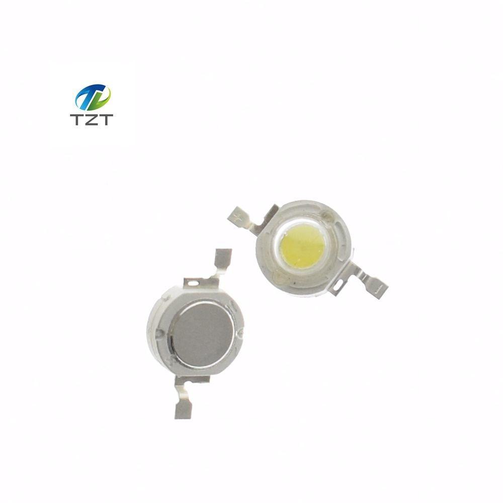 20~100PCS 3V Brand New 1W White//Warm White High Power Led Lamp Beads DIY Bulbs