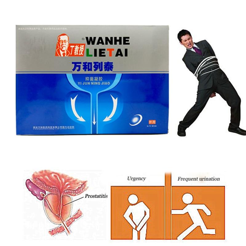 6 pz = 1 scatola di Prostatica Antibatterico gel di Trattamento Fo infezione urinaria Urologiche prostatico Prostatite Allargata Patch di Gesso
