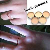 Halloween Modeling Fake Wound Scar Eyebrow Blocker Wax Special Effect Makeup Basic Product