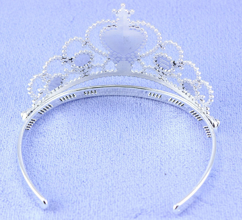 Yiwu Factory Wholesale Girls Queen Tiaras Hairband Safe Environmental Material Kids Head Jewelry Crown Beautiful BirthdayGiftN10