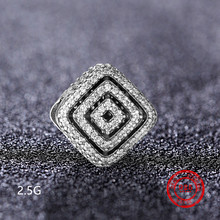 925 sterling silver bead pendant for Pandora original charm bracelet jewelry Valentine  s Day gift accessories wholesale