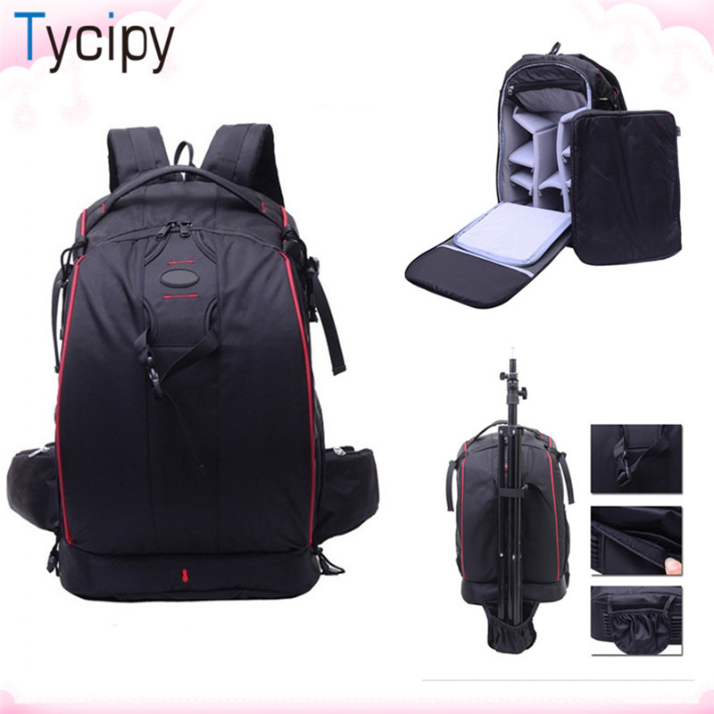 Tycipy Camera Bag High Quality Fashionable Camera Case Outdoor Travel DSLR Photo Backpack Bags for Canon Nikon Sony Hot Sale