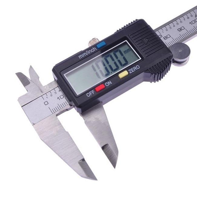 NEW 6inch 150 mm Vernier Digital Electronic Caliper Ruler Carbon Fiber Composite