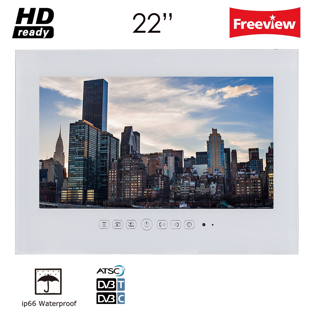Souria 22 inch IP66 Multimedia Magic Mirror Waterproof LED TV for ...