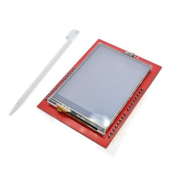 LCD module TFT 2.4 inch screen for Arduino UNO R3 Board and support mega 2560 with gif Touch pen - discount item  10% OFF Optoelectronic Displays
