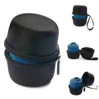 Funda columna de altavoz Bluetooth inalámbrica EVA para Sony SRS-XB10/Sony XB10/Sony SRS XB1 Nylon cremallera bolsa de viaje al aire libre