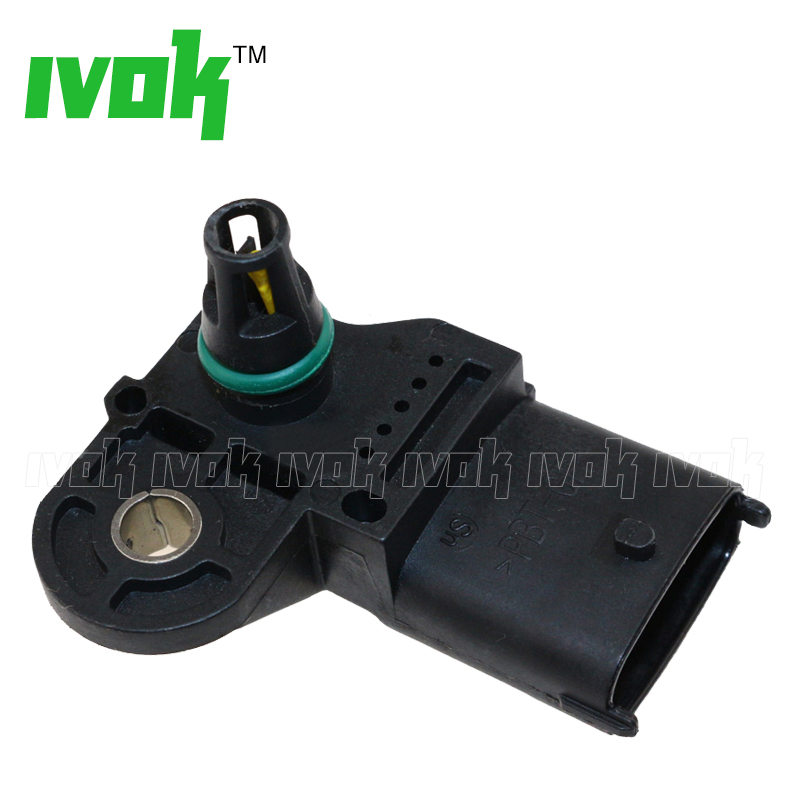 buy intake air boost pressure map sensor 0281002845 for opel vauxhall astra h j. Black Bedroom Furniture Sets. Home Design Ideas