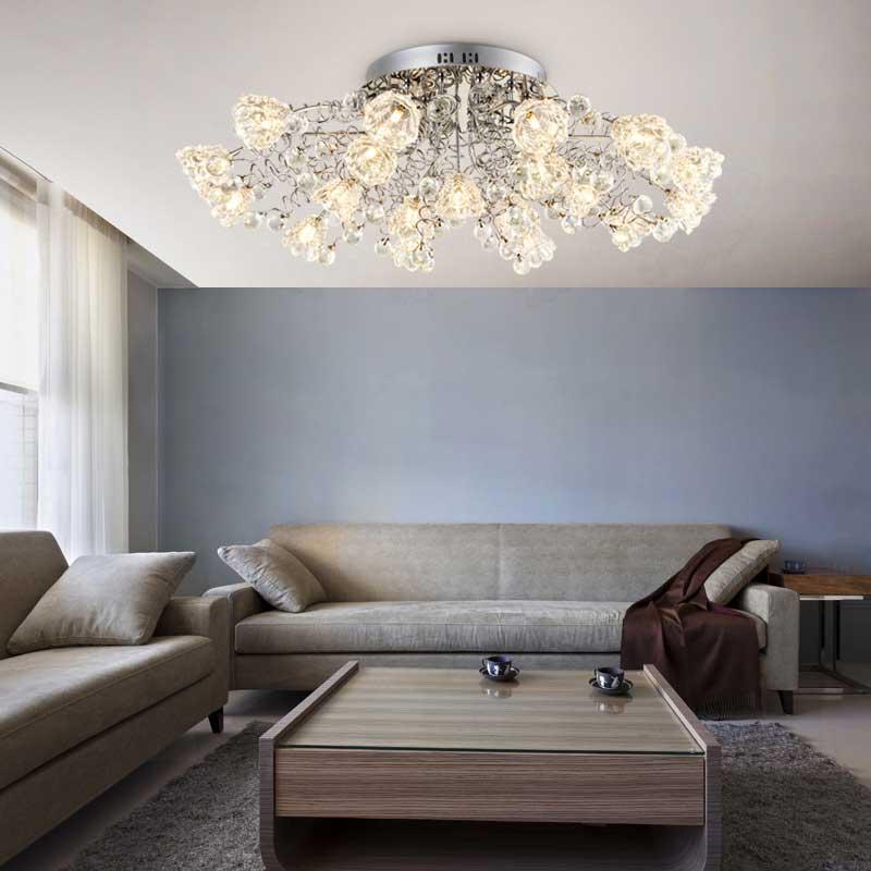Moderne Romantische Kristall Deckenleuchte Europischen FHRTE Fernbedienung G4 Beleuchtung Schlafzimmer Restaurant Wohnzimmer Kronleuchter China