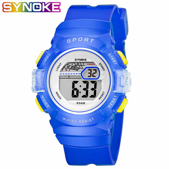 SYNOKE Children Student Sport Watch Kids Boys Girls Watches Child Clock LED Digital Wristwatch Electronic Wrist Watch Fashion