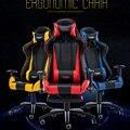 (Só a rússia) de luxo cadeira do computador cadeira do escritório capaz de mentir rotação de elevação and elevação do braço da cadeira