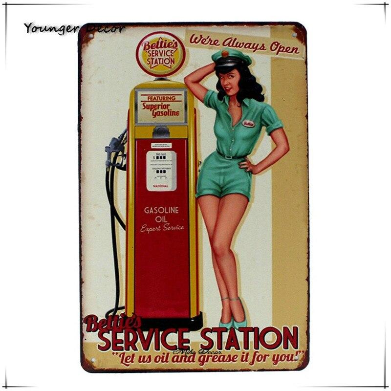 Metal Tin Sign  texaco poster  Decor Bar Pub Home Vintage Retro