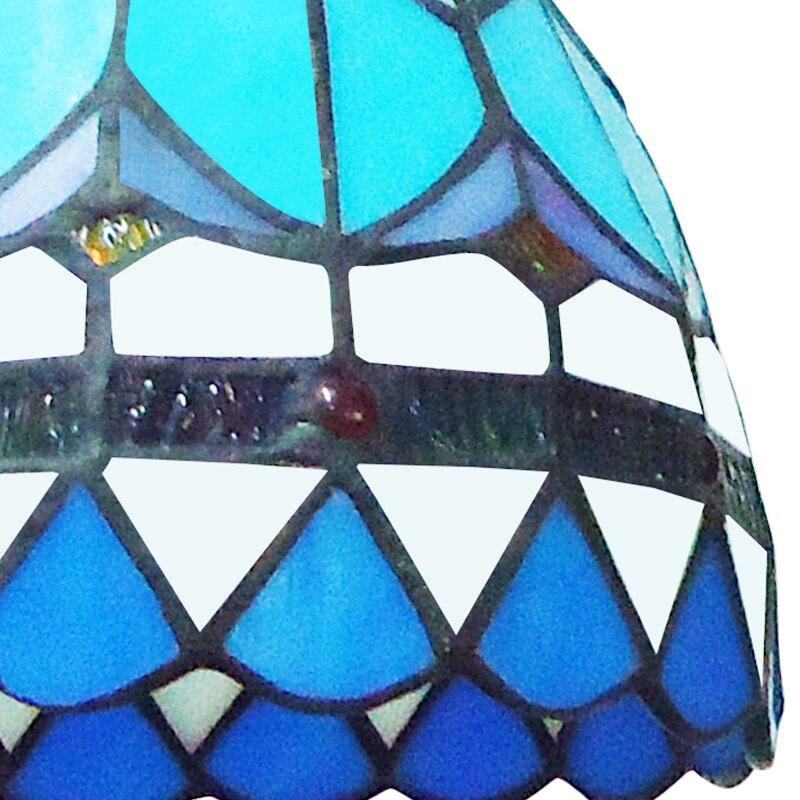 Middellandse Zee LED Ronde ijzeren glazen hanglamp Suspension - Binnenverlichting - Foto 5