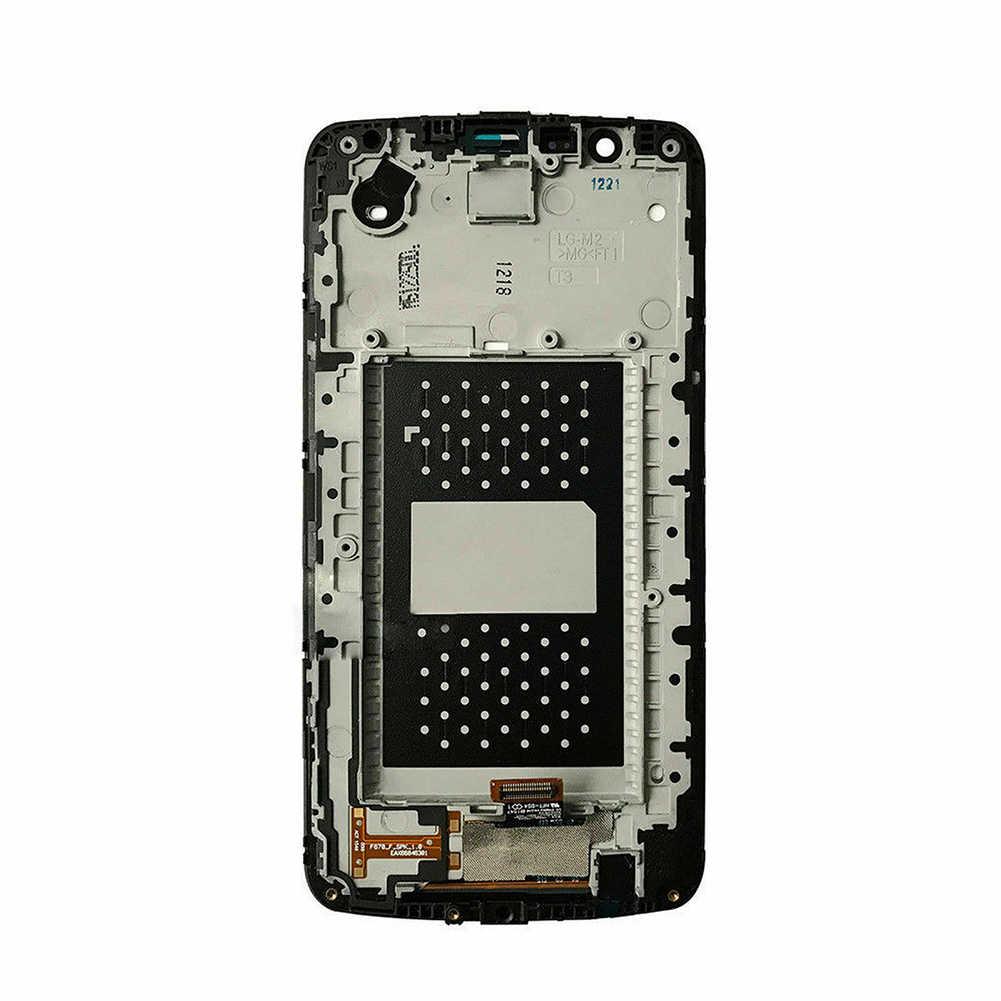 Новое поступление сенсорный ЖК-экран дигитайзер Рамка для LG K10 K410 K420N K428 K430 K430DS K430DSF