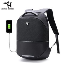 ARCTIC HUNTER 15.6inch USB Waterproof Anti Theft Laptop Men's bag Sport Travel Business Notebook Male Backpack Schoolbag Pack