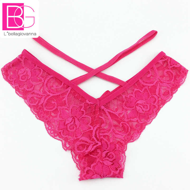 d770580d728 ... 5pcs/lot Sexy G-string Underwear Women Cross Thongs Culotte Lace  Transparent Panties Female ...