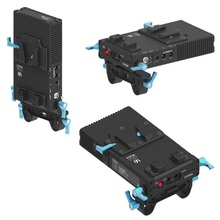 Fotga dp500iii v-montagem bp placa de alimentação da bateria dp500iii fonte de alimentação para v montagem da bateria para canon 5dii 5 diii