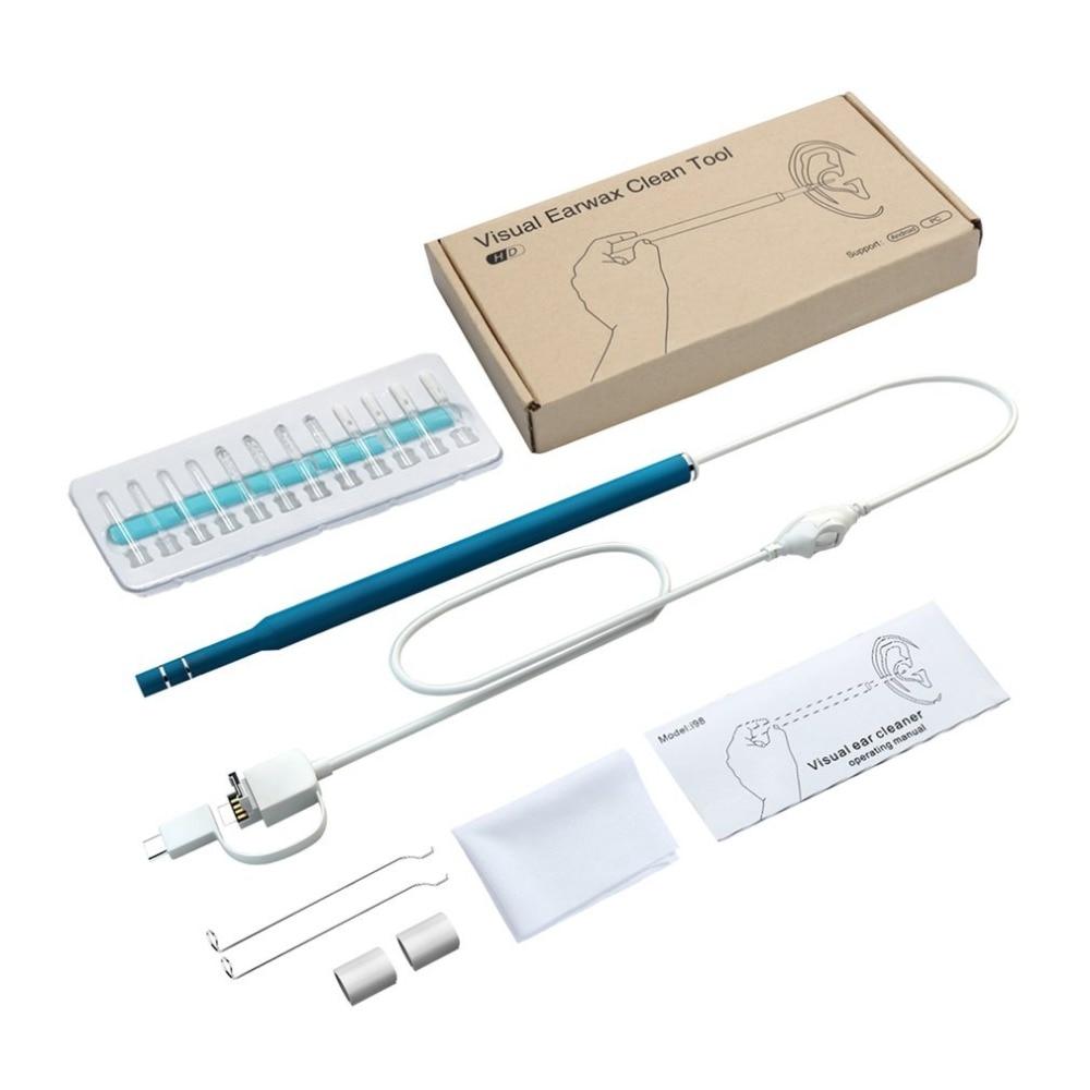 Ferramenta de Diagnóstico 0.3mp 3 In1ear Limpeza Endoscópio