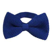 Top Sell Men's Double-Deck Knitted Bow Tie Male Wedding Bowties Many Styles Pattern Butterfly Ties For Men Butterfly Winter Tie