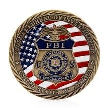 New US FBI Saint Michael Commemorative Challenge Coins Collection Token Art Craft  Drop ship