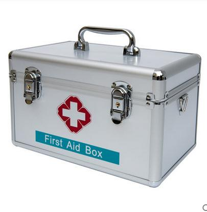 ФОТО 245*150*160mm Family medicine cabinet multilayer medical first aid kit medicine household children receive a case plastic box