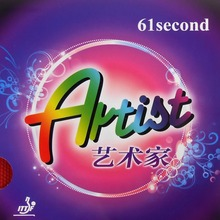 61second ARTIST Long Pips-Out Table Tennis / PingPong Rubber Without Sponge (Topsheet, OX)