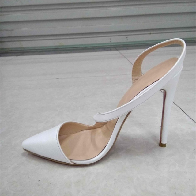 Toe Cm Fashion Shoes Shoes Pumps From Us56 In Free Leather11 Women's High HeelsPointed ShippingWhite 0shofoo PumpsSize On 34 45 beautiful bf7yY6g
