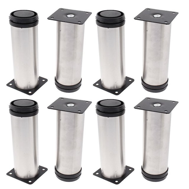 Chair Cabinet Support 50mm x 150mm Adjustable Plinth Leg 8pcs