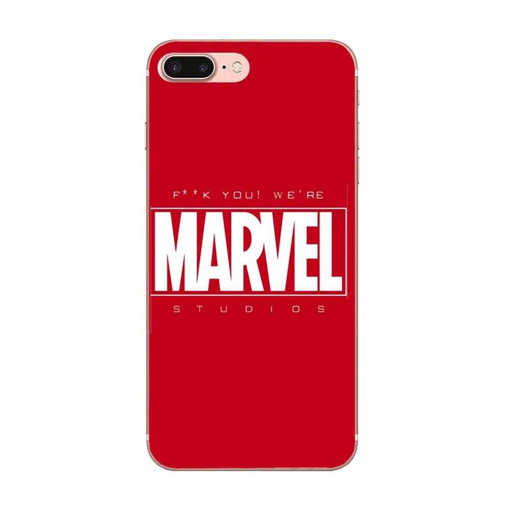 Cartoon Marvel komiksy dla Huawei Honor Mate 7 7A 8 9 10 20 V8 V9 V10 G Lite zagraj Mini pro P inteligentne etui z termoplastycznego poliuretanu etui na telefony