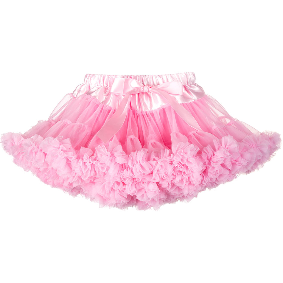 Baby Girls Tutu Skirts Princess Pettiskirt Ballet Dance Skirt Ballerina Pettiskirt Fluffy Children Ballet Skirts Tulle Clothes