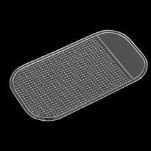Силиконовый Противоскользящий нескользящий коврик для приборной панели автомобиля липкий коврик держатель для сотового телефона Автомобильный gps держатель аксессуары для интерьера