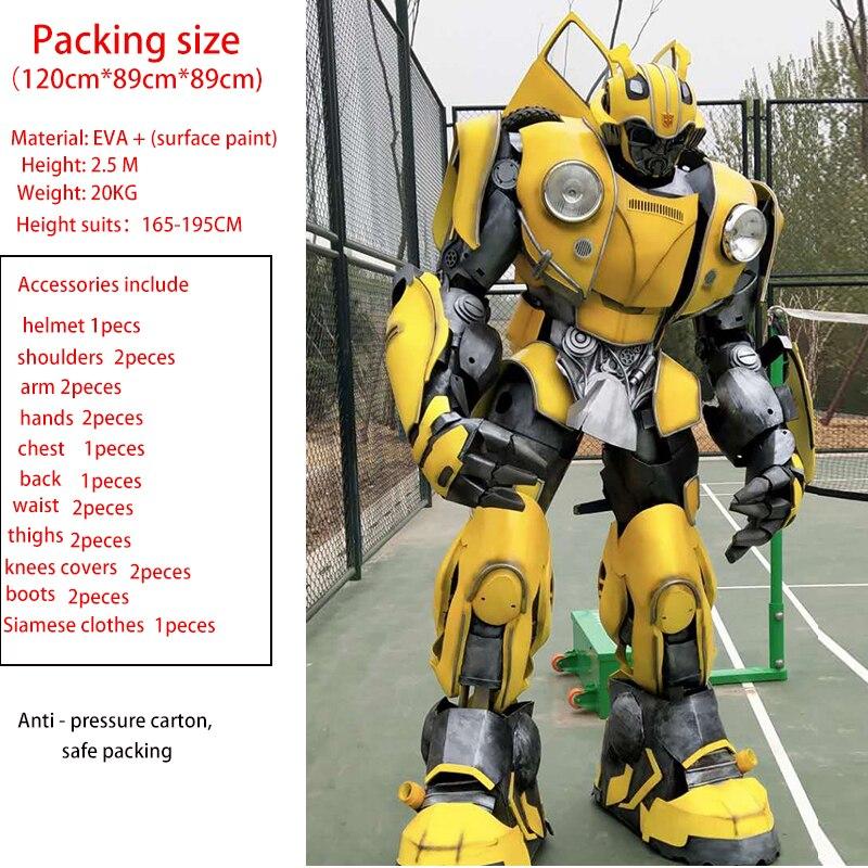 Armure de costume portable bourdon transformateurs d'armure Cosplay armure portable pour Optimus Prime et Megatron