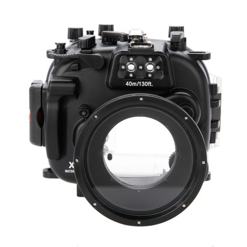 Pour fujifilm fuji x-t1 xt1 + 18-55 pp239 meikon étanche plongée sous-marine plongée caméra logement cas