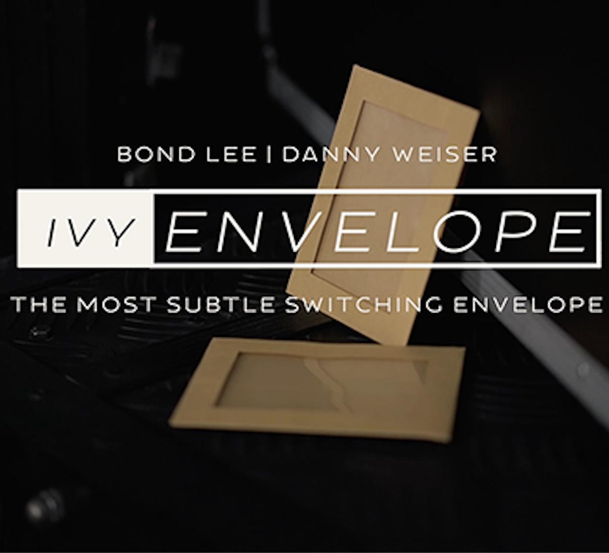 Айви конверт (Gimmicks и онлайн инструкции) от Danny Weiser, Бонд ли как магия, magic show kit, stage магические иллюзии
