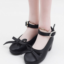 1Pair Fashion Shoes PU Leather Shoes For 16inch 60cm BJD SD Dolls For 7.8cm 1/3 Dolls(China)