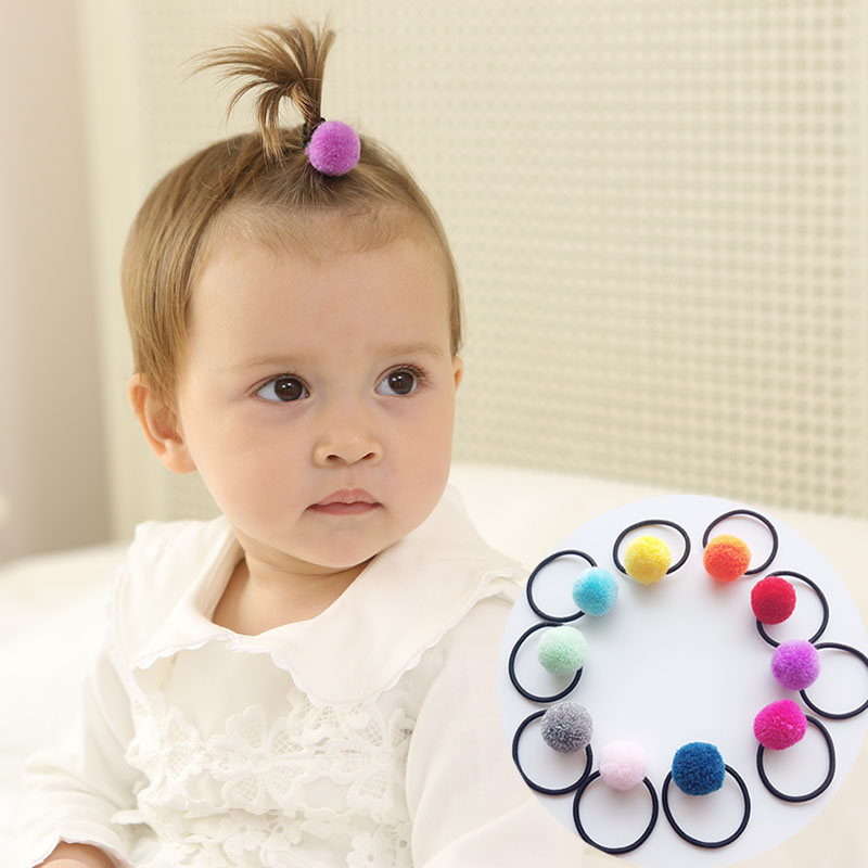 New Arrival styling tools ball crackers elastic hair bands   headwear   hair accessories for girl children make you fashion