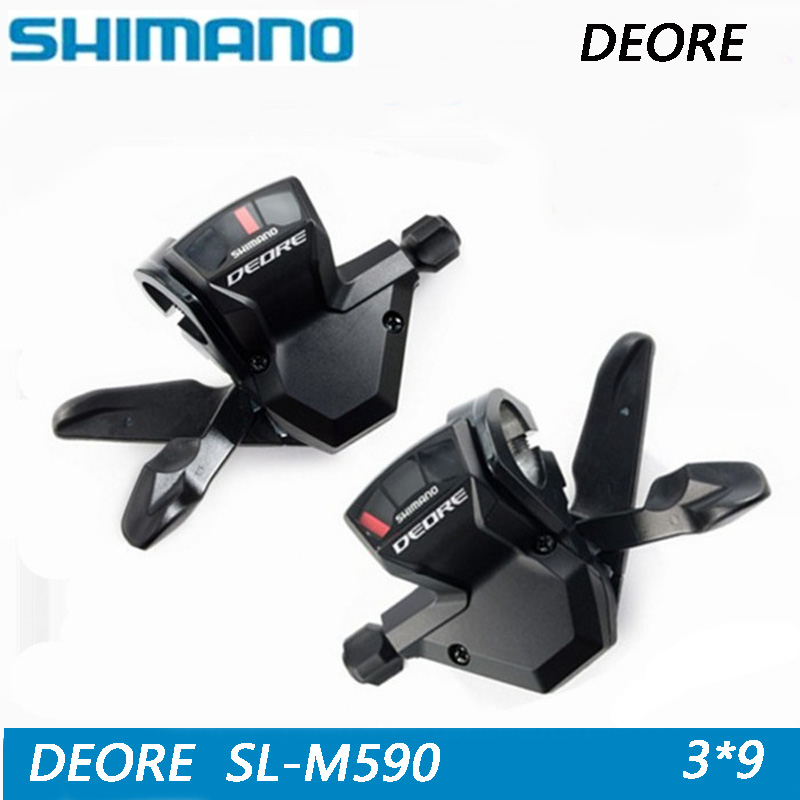 SHIMANO ALIVIO SL M590 MTB Shifter thumb shift derailleur control handle transmission switch 3*9 speed free delivery-in Bicycle Derailleur from Sports & Entertainment    1
