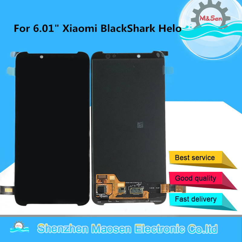 Original Tested M&Sen For 6.01 Xiaomi BlackShark Helo LCD  Display Screen+Touch Panel Digitizer For Black Shark Helo DisplayOriginal Tested M&Sen For 6.01 Xiaomi BlackShark Helo LCD  Display Screen+Touch Panel Digitizer For Black Shark Helo Display