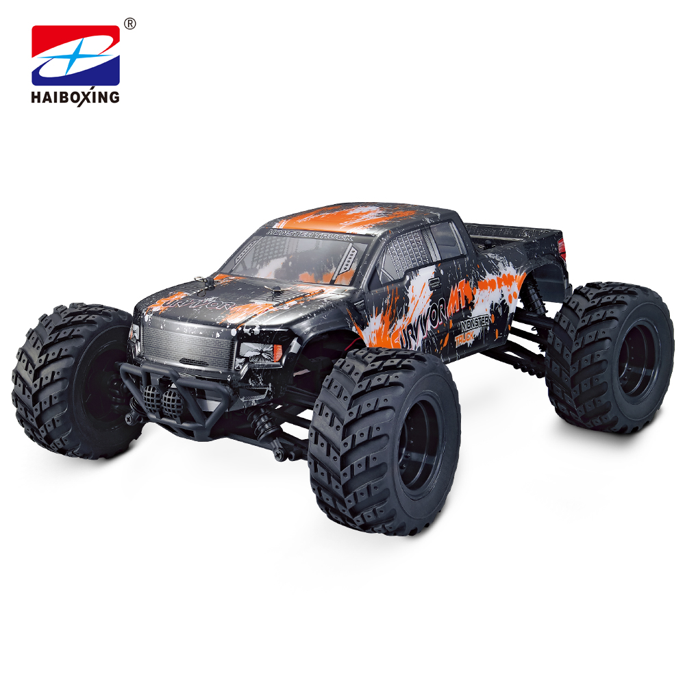 HBX 12813 RC Car 4WD 2.4Ghz 1:12 Scale 35km/h High Speed Remote Control Car Electric Powered Off-road Vehicle Model Green/Orange