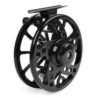Ultralight 7/8 WT Fly Fishing Reel Max Drag 6KG Aluminum Alloy CNC Machine Cut 145g Large Arbor Casting Former Ice Reel Wheel
