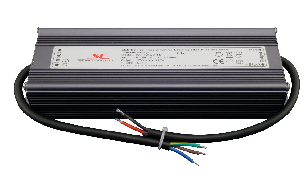 KVP-12150-TD;12V/150W triac dimmable constant voltage led driver,AC90-130V/AC170-265V input kvp 24200 td 24v 200w triac dimmable constant voltage led driver ac90 130v ac170 265v input