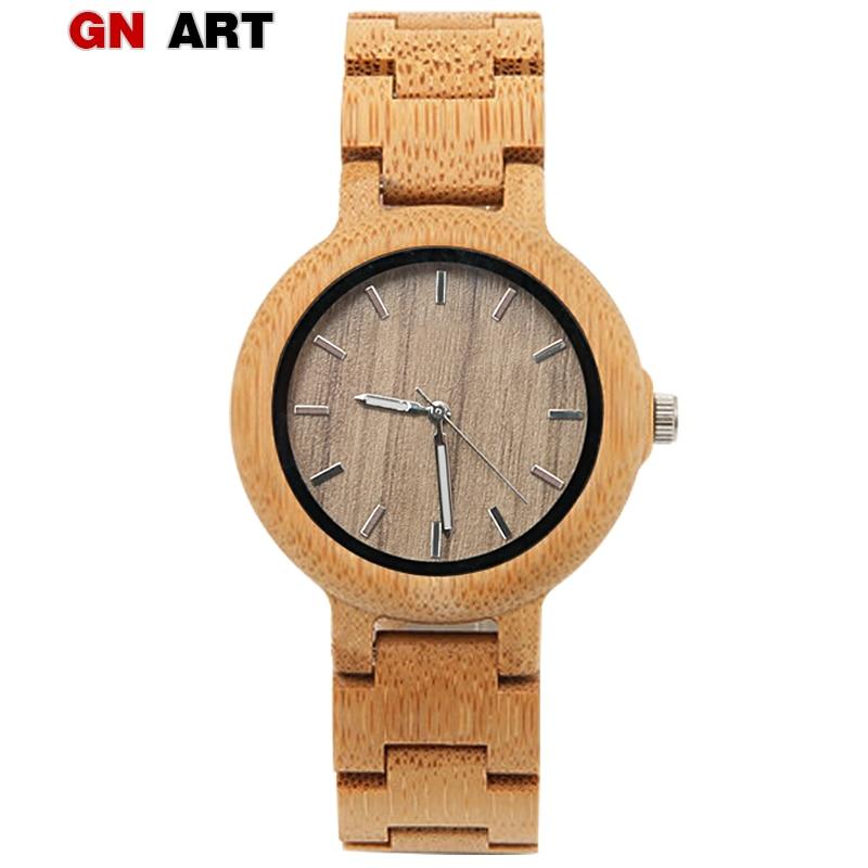 ART13 montre en bois femmes bois montre Bracelet femmes montre egarek damski petite montre-Bracelet pour dames cadeau relogio feminino 2018