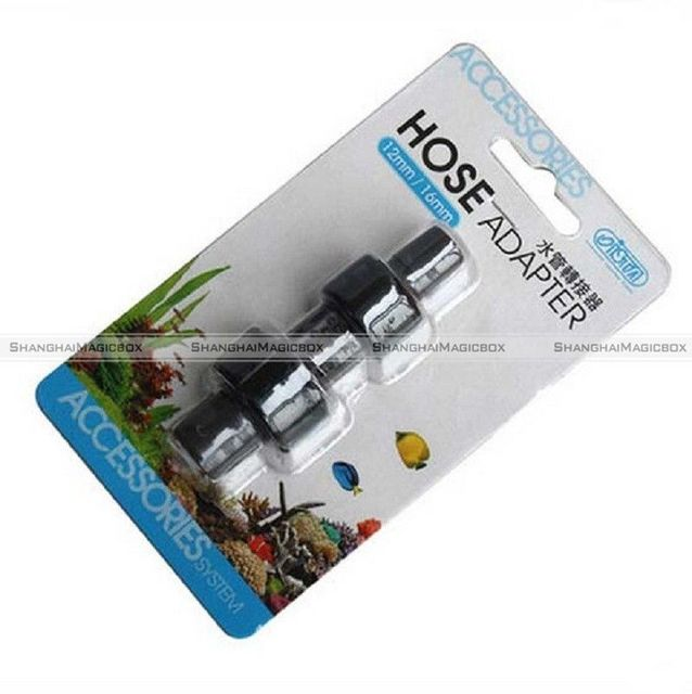 ISTA manguera adaptador 12/16mm y 16/22mm-Conecte convertidor filtro acuario SMB 40515527