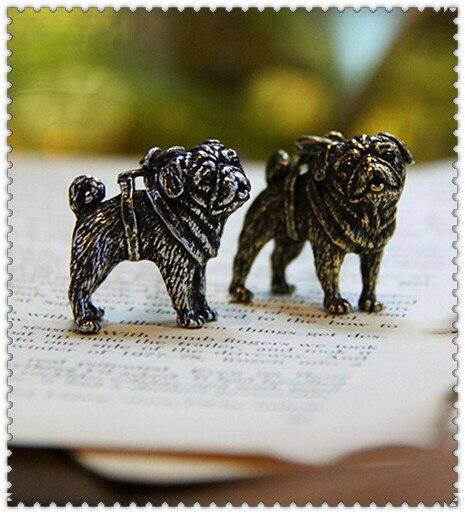 Купить ожерелье для мопса ожерелье ручной работы тисненый кулон ювелирных