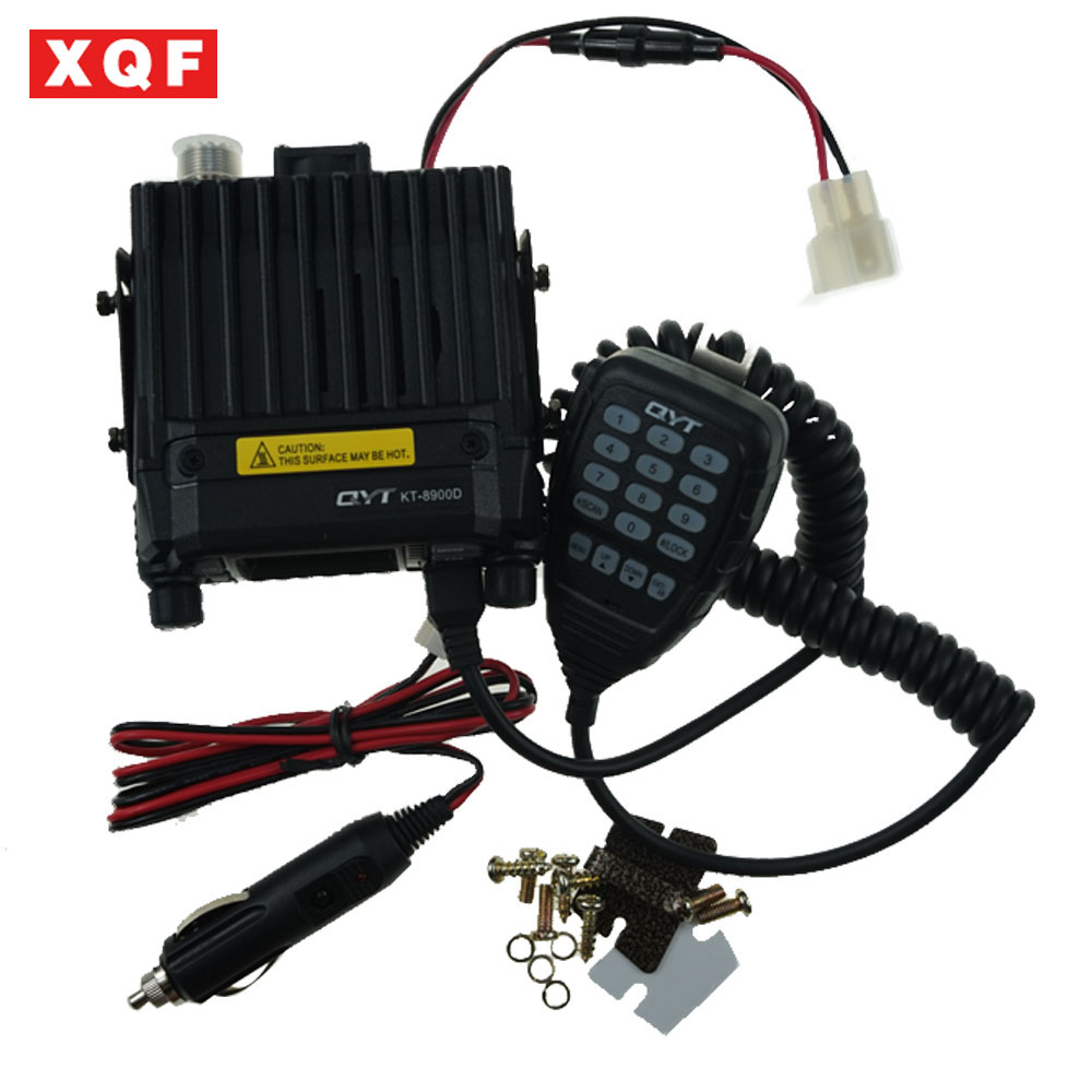 KT 8900D 25W Vehicle Mounted Two Way Radio Upgrade KT 8900 Mini Mobile Radio with Quad