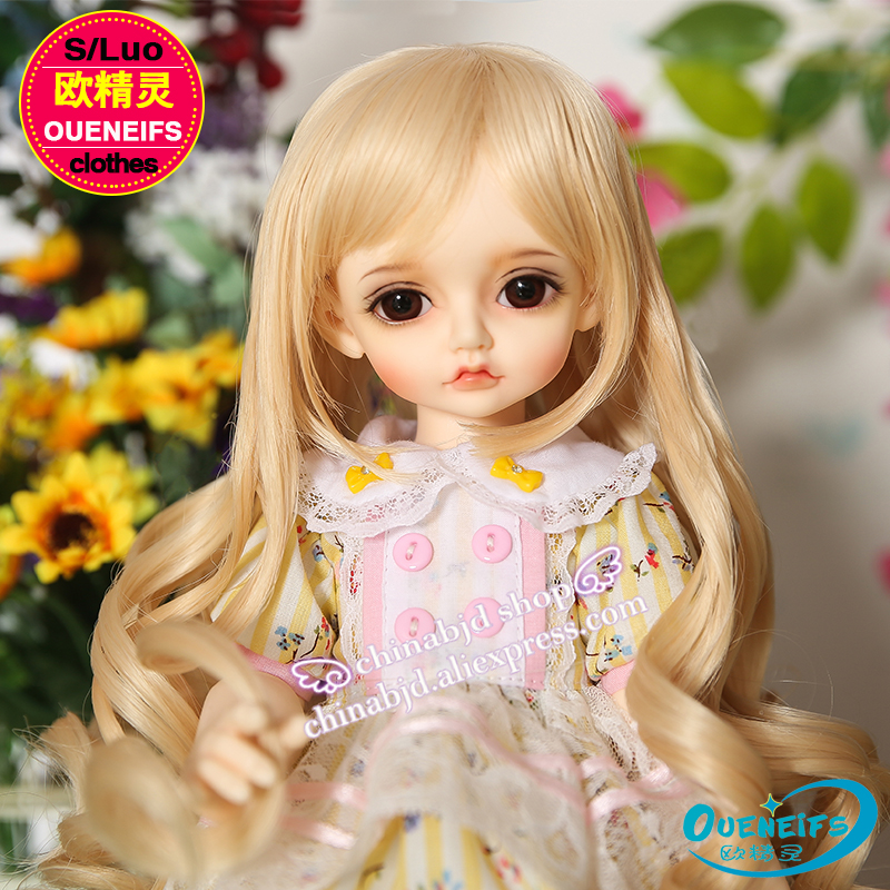 OUENEIFS free shipping, one piece spliced dress with like a breath of fresh air in summer 1/4 bjd sd doll clothes,no doll or wig guano apes guano apes proud like a god 180 gr colour