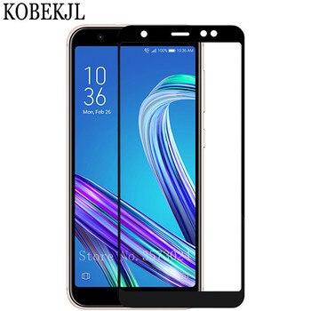 Szkło hartowane dla Asus Zenfone Max M1 ZB555KL ochraniacz ekranu ASUS ZenFone Max M1 ZB555KL ZB 555KL X00PD szkło folia na cały telefon
