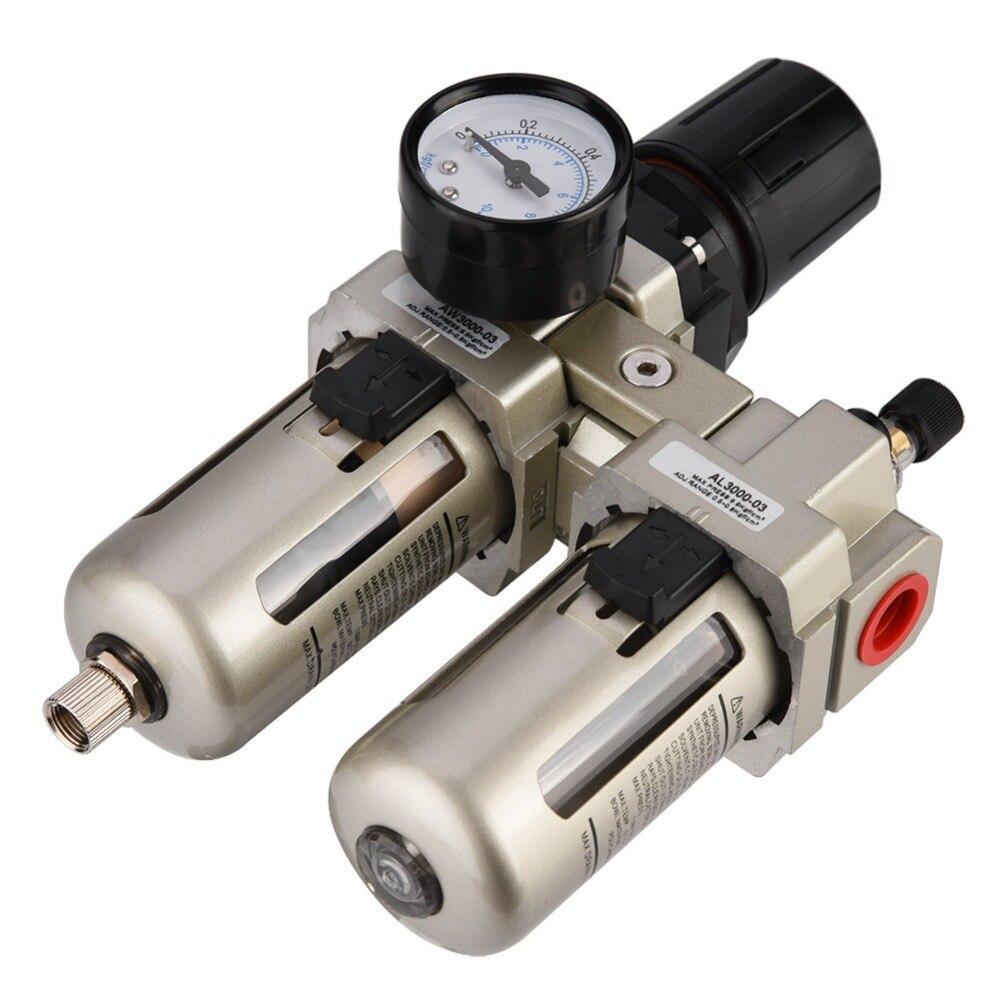 1Pcs AC3010-03 Air Filter Regulator Compressed Air Pressure Regulator Oil-water Separator Compressor Moisture Trap New air filter regulator compressor