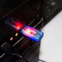 Etmakit 5,1-Channel мм w/3,5 мм звуковая карта внешняя USB Звуковая карта адаптер аудио карта компьютер стерео микрофон аудио USB конвертер