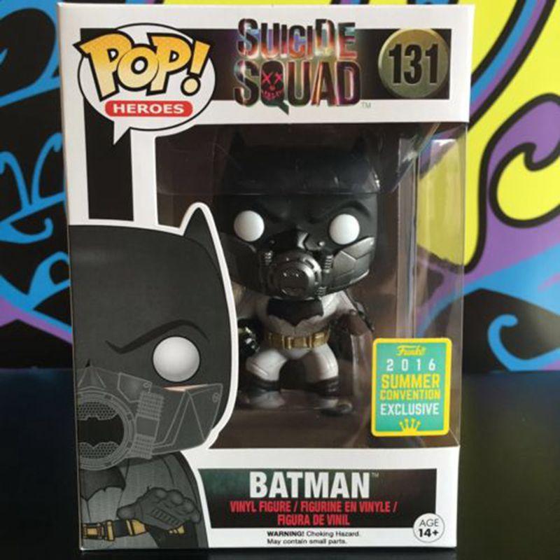 Funko pop films officiels DC: Suicide Squad-figurine en vinyle Batman jouet de collection avec boîte d'origine
